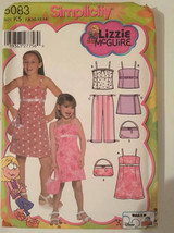 Simplicity 5083 Child's and Girls Dress, Top, Bodice Lining, Pants and Skort  Si - $8.00