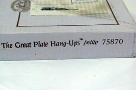 "Vanhygan And Smith The Great Hangup Petite Set Of 4 Brass 6"" Plate Hange... - $7.61"