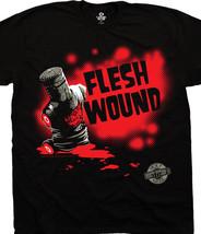 Monty Python & The Holy Grail Black Knight Flesh Wound T-Shirt , NEW UNWORN - $14.50