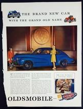 1946 Oldsmobile Magazine Print Ad Brand New Car Hydra-Matic Drive - $9.90