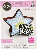 Sizzix Framelits Die Set 7PK - Star Fold-its by Stephanie Barnard - $17.99