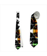 Pink Floyd Necktie neck tie the dark side of the moon abstract band album - $22.00