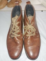 Fila Leather Brown High Ankle Boots Men Size 13 - $26.10