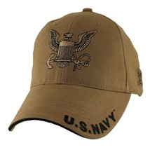 U.S. Navy with Navy Insignia Officially Licensed Military Hat Baseball Cap - $25.95