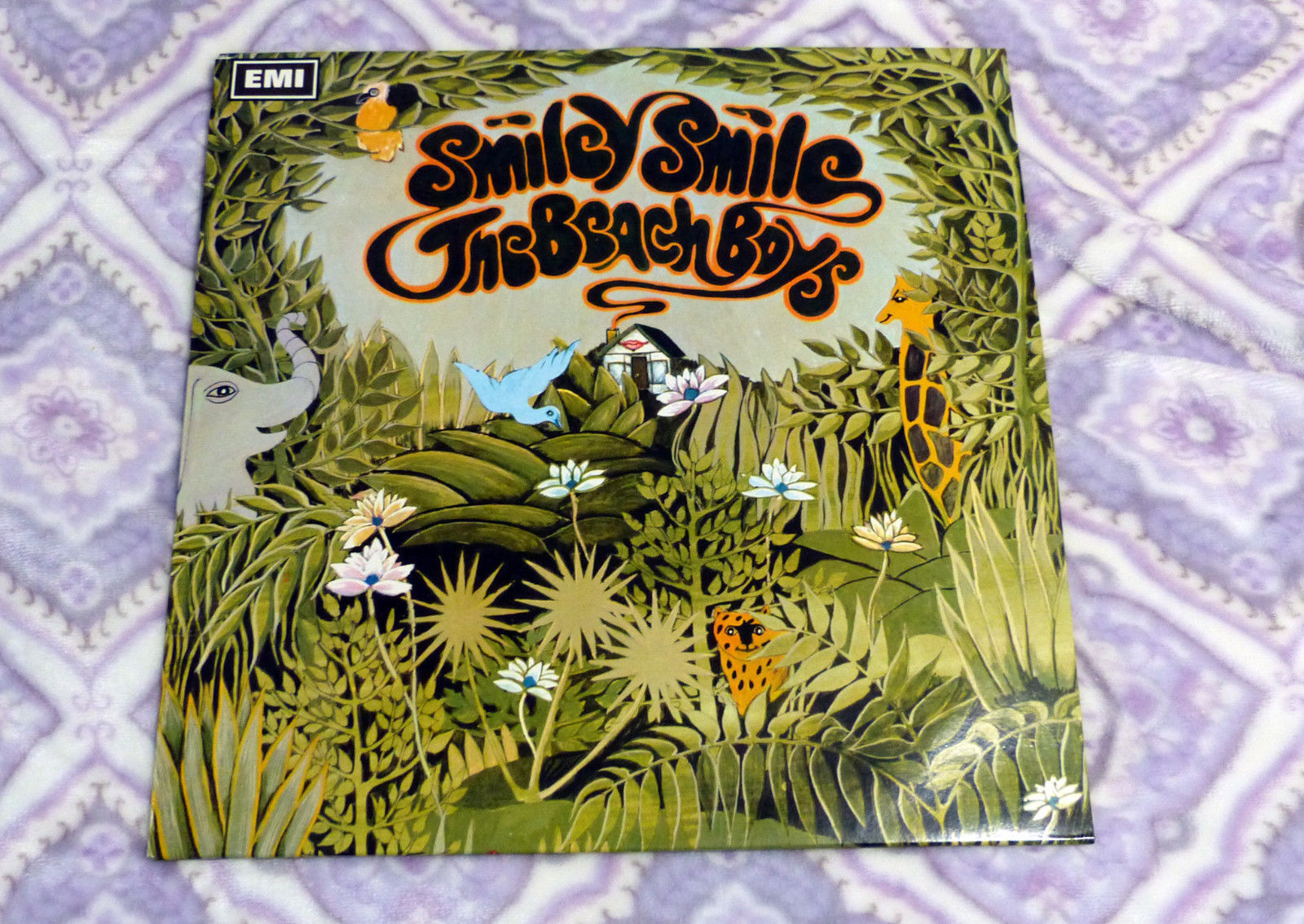 Primary image for The Beach Boys - Smiley Smile - Vinyl LP  SVLP 219 EMI Capitol Audiophile Exc.