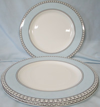 Charter Club Tuilleries Blue Round Buffet or Chop Plate Set of 3 - $33.55