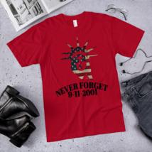 Never FORGET t-shirt / September 11-2001 t-shirt / September 11 T-Shirt  image 6
