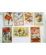 Vintage Divided Back Unused Greetings Postcard Lot - $12.00