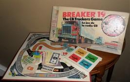 Vintage Milton Bradley BREAKER 19 C.B. Truckers 1976 Board GAME~Complete - $24.00