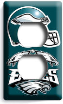 PHILADELPHIA EAGLES FOOTBALL ELECTRICAL OUTLET COVER PLATE BOYS BEDROOM ... - $8.99