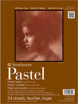 18x24 Pastel Drawing Paper Pad 24 Sheet Wet Dry Paint Mixed Media Art Su... - $21.99