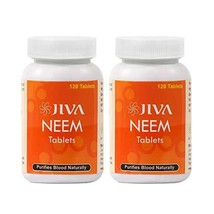 Jiva Ayurveda Neem Tablets (Pack of 2) - $10.79