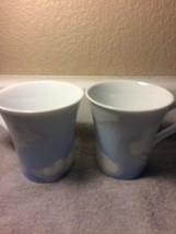 (2)  222 FIFTH  CLOUD NINE  COFFEE MUGS / CUPS   -- NICK & NORA---FREE S... - $25.30