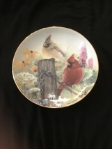 "NNB The Danbury Mint Collection ""SUMMER GARDEN"" Collectors Plate By Bob ... - $15.90"