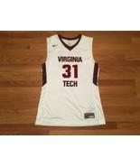 Nike Virginia Tech Countdown Elite Basketball Jersey Men's L White 618477 - $34.65