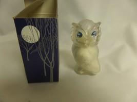 "AVON  SNOW OWL ""A DECORATIVE & USEFUL JEWEL OF AN OWL"" - $9.50"