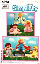 Simplicity Cabbage Patch and Flower Kids Clothes Sewing Pattern # 6823 - $11.76