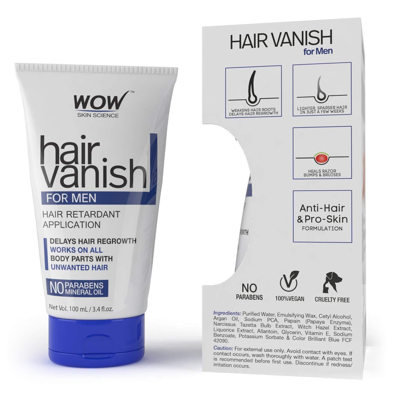 WOW Men's Hair Vanish - No Parabens and Mineral Oil , (100ml) Capacity,