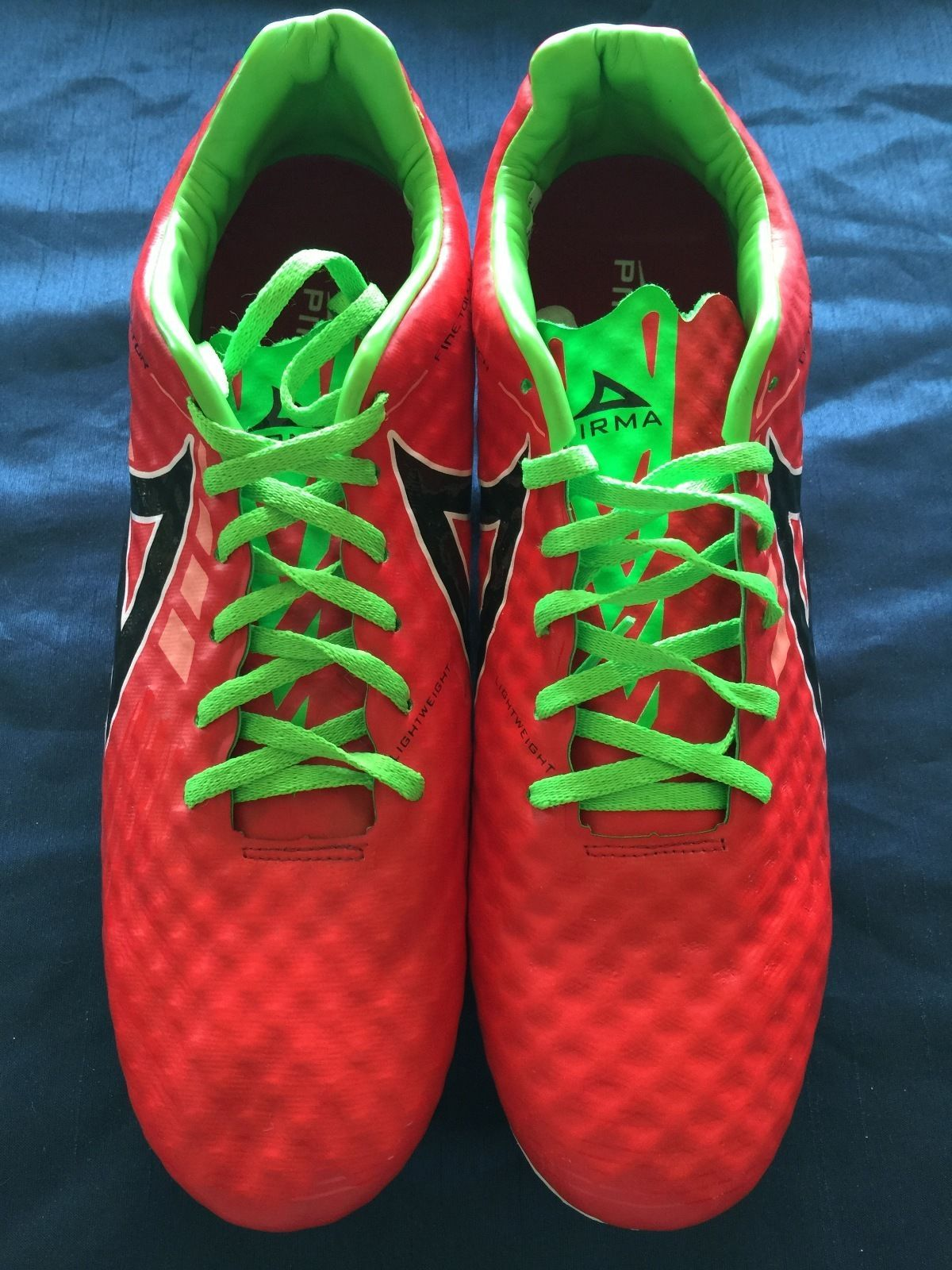 New Pirma Detonator Cleats Style 566 Red And 38 Similar Items