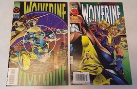 COMIC BOOK Lot 2 Marvel Wolverine 1994 1995 #87 #99 Nice NM Boarded Sleeved - $3.71