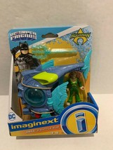 New Imaginext Fisher Price DC Super Friends Mera from Aquaman movie Blac... - $13.22