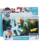My Little Pony Guardians of Harmony Rainbow Dash and Tank the turtle - $11.95
