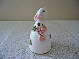 """Vintage 1984 Avon Ceramic Bunny Bell """" Beautiful Collectible Item """" - $14.01"""