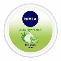 NIVEA Soft, Aloe Moisturising Cream with Almond Oil -All Skin Types, 200... - $15.83