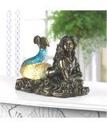 Mermaid Statue Figurine Nautical Lamp Girl Children Night Light - $49.45