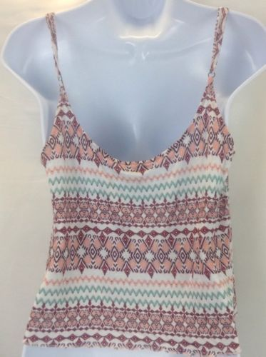 Express Multi-color High Low Top Cami Size Large image 5