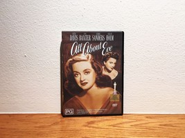 All About Eve 1950 DVD Bette Davis Anne Baxter Drama Black and White - $14.95