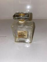 vintage chanel no. 5 perfume bottle - $64.35