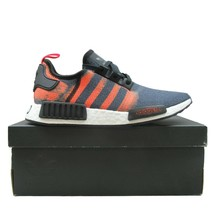 阿迪达斯(Adidas)Originals NMD R1 男装s Size 12 Black Solar Red Stencil Pack G27917 NEW-$ 100.00