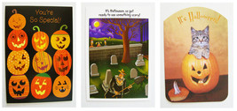 Halloween Greeting Cards ~ NEW ~ Child ~ Humorous ~ Lot of Three (3) - $1.75