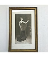 A Blond Profile Photgravure Print Dannat 1889 Victorian Beauty - $39.99