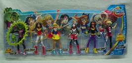 DC Super Hero Girls ACTION FIGURES 5 GIRLS BEAST BOY ACTION COLLECTION T... - $29.70
