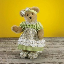 "Boyds Bears ""Sage Florabloom"" #4015940 - 12"" PLUSH BEAR -NEW -2009 -RETIRED - $49.99"