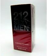 CAROLINA HERRERA 212 SEXY MEN  Eau De Toilette Spray 3.4oz/100ml NIB - $48.41