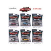 All Terrain Series 2, 6pc Diecast Car Set 1/64 by Greenlight 35020 - $47.63