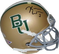 Kendall Wright signed Baylor Bears Authentic Schutt Mini Helmet- Wright ... - $39.95