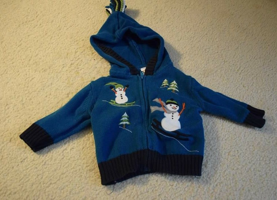 434f1ee77 Gymboree sz 3-6 SNOW DAYS Teal Snowman and 50 similar items