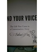 2010 SIGNED Find Your Voice by Sahar Paz - $49.99