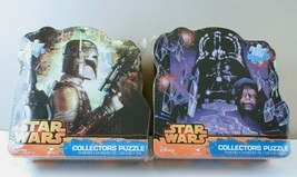 Star Wars Puzzle 1000 Piece Lot of 2 Collectors Tin Sealed Darth Vader B... - $14.88