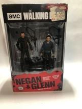 "McFarlane Toys The Walking Dead AMC Negan & Glenn  5"" Figure Deluxe Boxe... - $12.99"