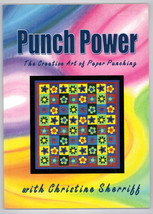 PUNCH POWER CHRISTINE SHERIFF ART OF PAPER crafts  hobby ideas PUNCH CRAFT - $11.88