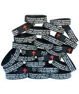 100 of Serenity Prayer Wristbands - Motivation & Inspiration Band Bracelets - $58.29