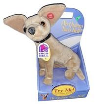 1998 Yo Quiero Taco Bell Talking Chihuahua Dog Fun 4 All Plush and Appla... - $24.99