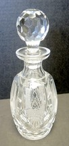 Waterford Spirits Decanter - WAT31 Pattern - Criss Cross & Thistle Pattern - $75.99