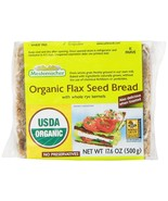 Mestemacher Bread, Organic Flaxseed, 17.6 Ounce Units (Pack of 12) - $42.71