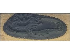 Stampendous Lily Pad Rubber Stamp #B071 image 2